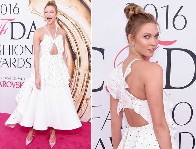 karlie kloss at CFDA fashion awards 2016