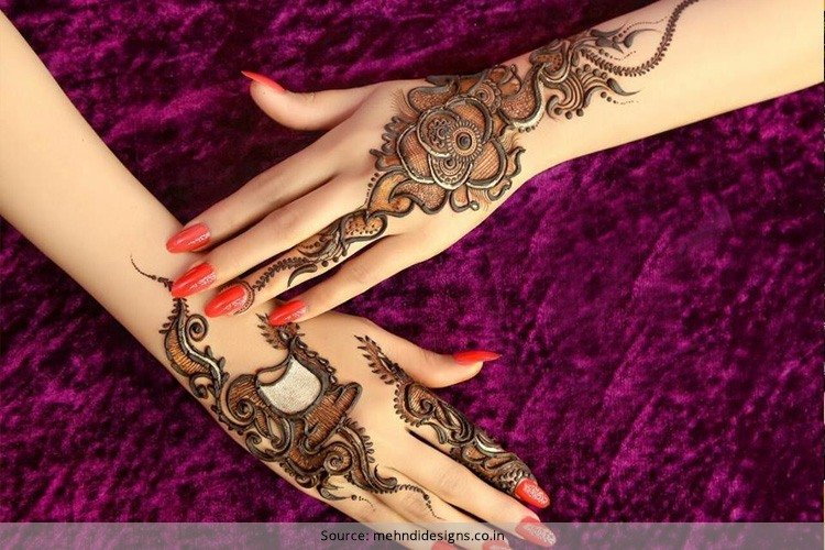 Latest Indian Mehndi Designs For Hands  Images