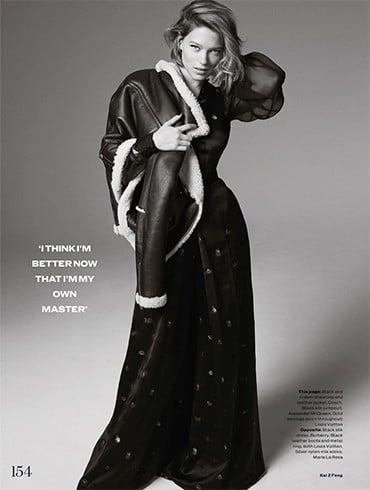Lea Seydoux On Elle UK June 2016 Photoshoot