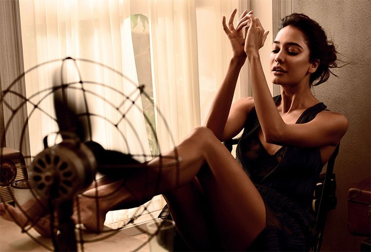 Lisa Haydon On Bazaar India June 2016 Photoshoot