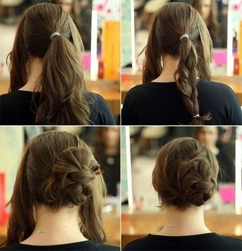 Stuffed Hair Buns