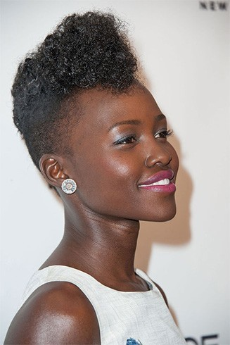 Pompadour Haircut Length : Get inspired from lupita nyongo hairstyles
