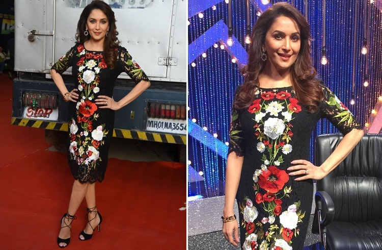 Madhuri In Dolce And Gabbana
