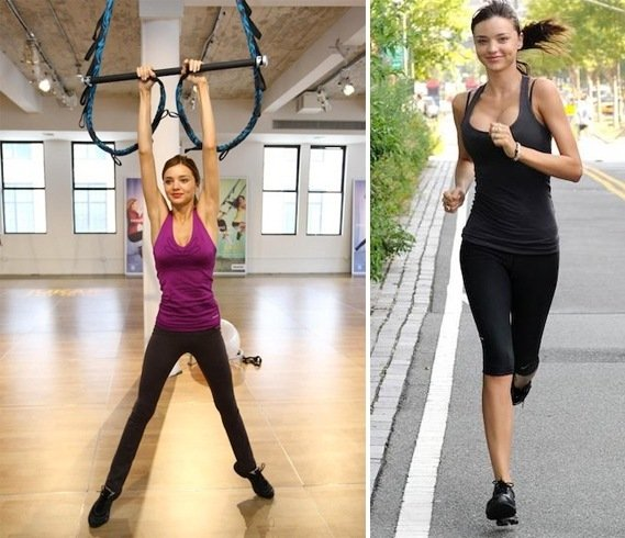 Miranda Kerr Workout