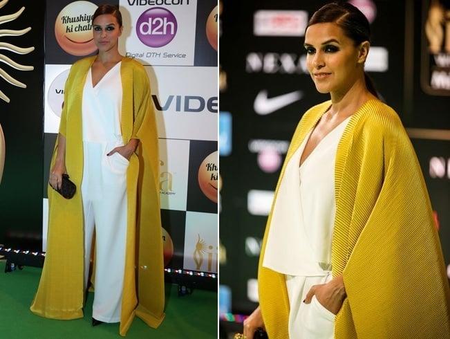 Neha Ddhupia At IIFA Awards 2016
