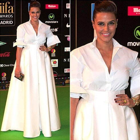 Neha Dhupia At IIFA Awards 2016