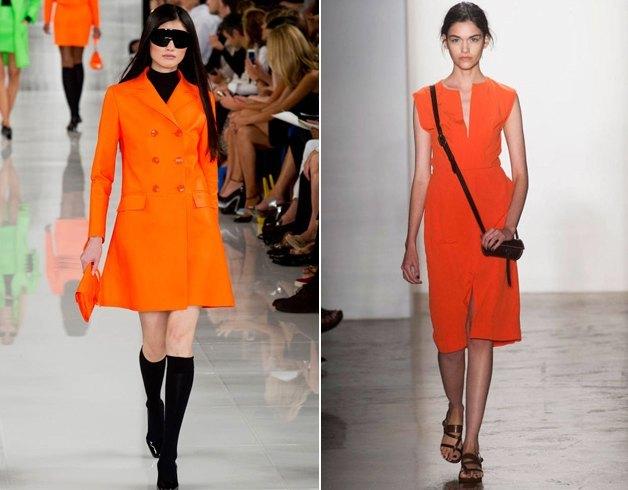 Orange Womens Clothing