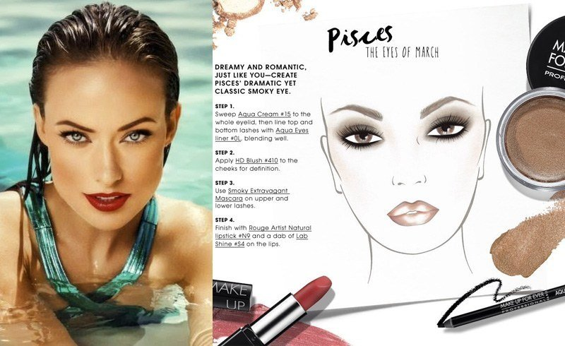 Pisces makeup tips