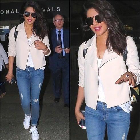 Priyanka Chopra airport style