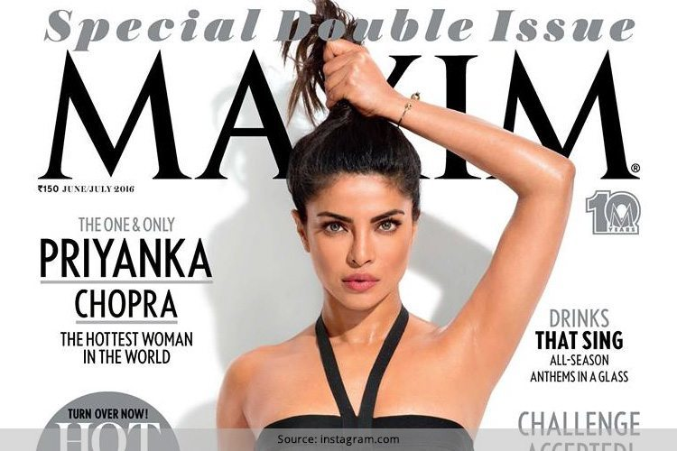 Priyanka Chopra On Maxim July 2016 Magazine Cover