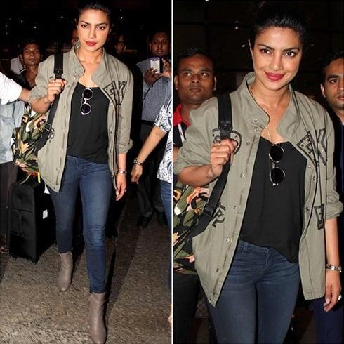 Priyanka Chopra snapped