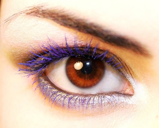 Purple Mascara