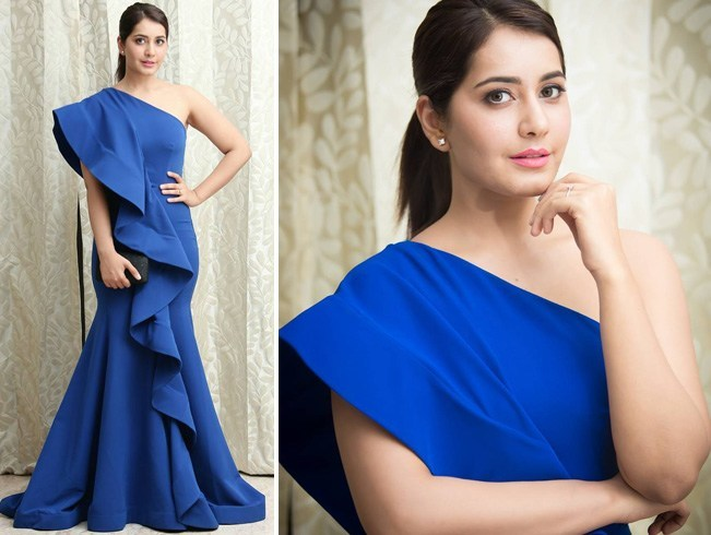 Raashi Khanna At Filmfare 2016