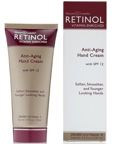 Retinol Anti Ageing Hand Cream With SPF 12