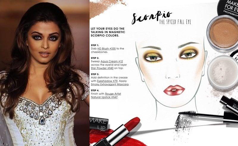Scorpio makeup tips