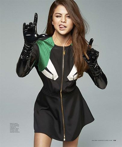 Selena Gomez On Marie Claire 2016 Photoshoot