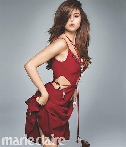 Selena Gomez On Marie Claire Magazine June 2016 Photoshoot