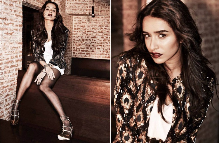 Shraddha Kapoor On Filmfare 2016 Shoot
