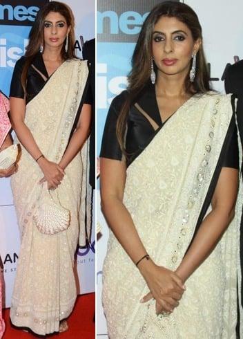 Shweta Bachchan Nanda In Chikankari