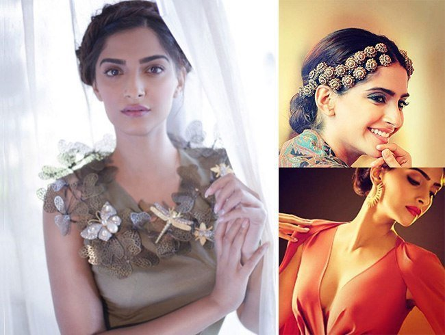 Sonam Kapoor in Vasundhara Collection
