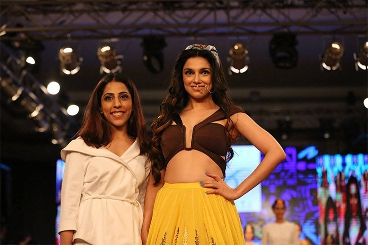 Sukriti and Akriti at Day 2 of IBFW 2016