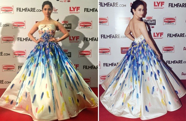 Tamannaah Bhatia at 63rd Britannia Filmfare Awards