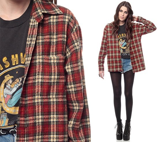 90s Flannel Shirts