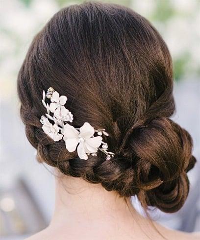 15 wunderschöne Frisuren für die New-Age Indische Braut, diesen Herbst und Winter zu versuchen