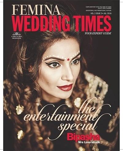 Bipasha Basu On Femina Wedding Times