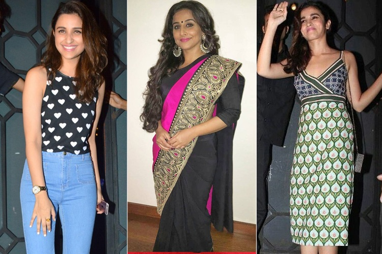 Bollywood Celebrities In Showy Styles