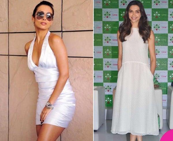 Bollywood Celebs In White Dresses
