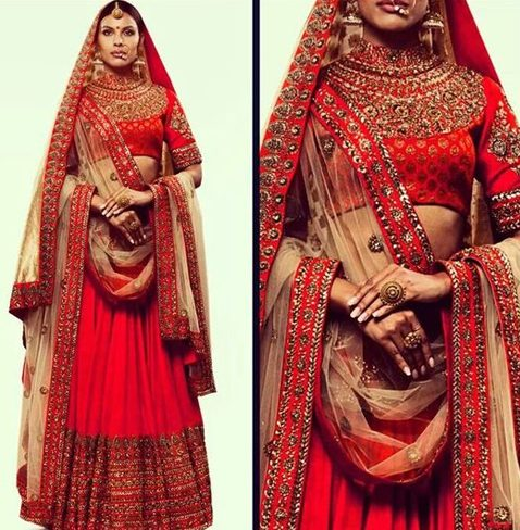 Bridal Lehenga Blouse Designs