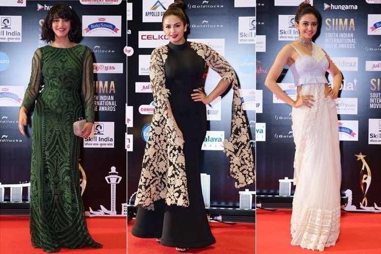 Celebrities At SIIMA 2016