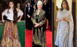 Celebrities Wearing Abu Jani Sandeep Khosla Outfits