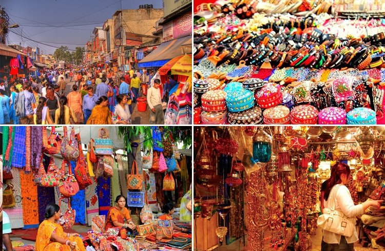 Shopping In new delhi New Delhi has been an important hub for trading and shopping since medieval times. Apart from being one of the fashion capitals of India, the city is also popular for its wholesale markets, handicraft emporiums and book markets.