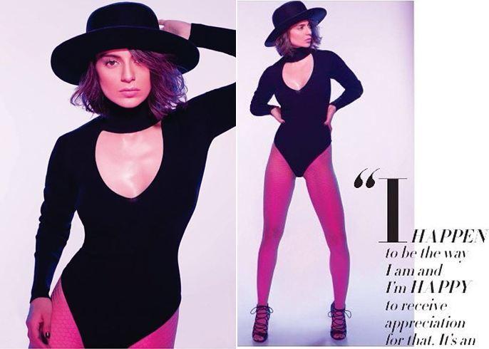 Kangana Ranaut On Grazia Magazine Cover