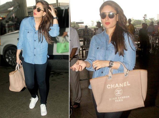 Kareena Kapoor Khan Airport Styles