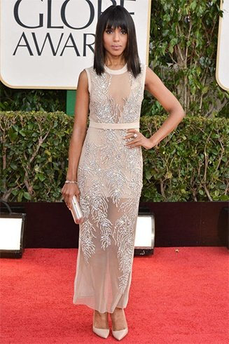 Kerry Washington At Golden Globes
