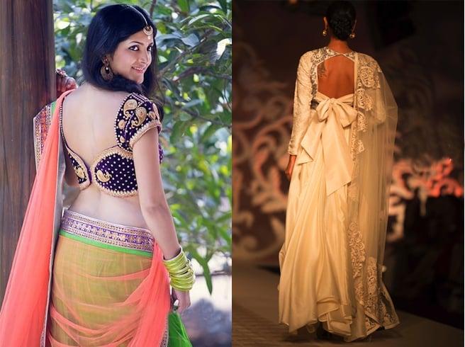 Best fashion latest blouse designs for lehenga choli