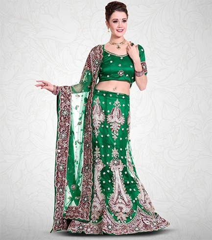 Mermaid Style Lehenga Saree