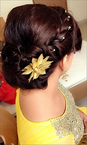 15 Gorgeous Hairdos For The New-Age Indian Bride To Try This Fall And Winter