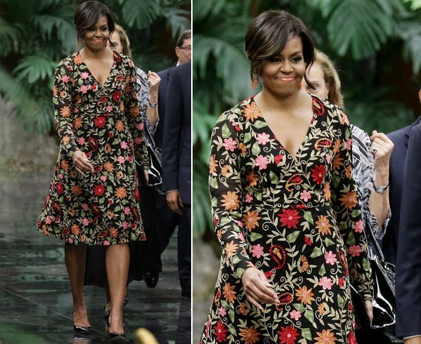 Michelle Obama Designer Outfits