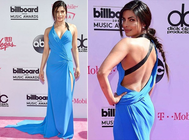 Priyanka Chopra In Blue