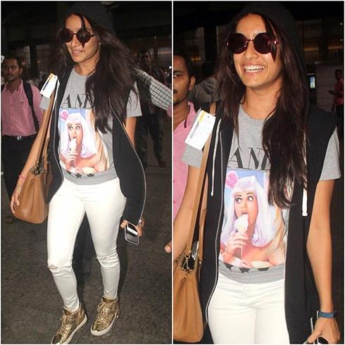 Shraddha Kapoor Airport Styles
