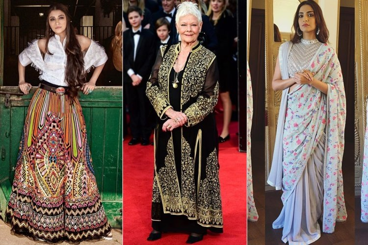 Celebrities Wearing Jaw Dropping Abu Jani Sandeep Khosla Outfits