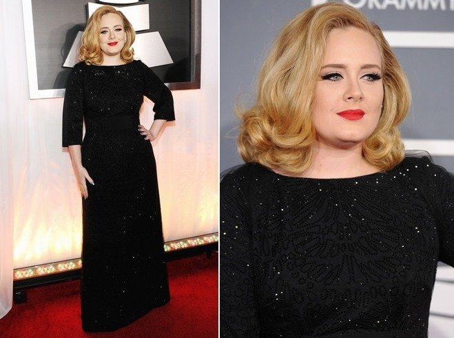 Adele In Christian Louboutin