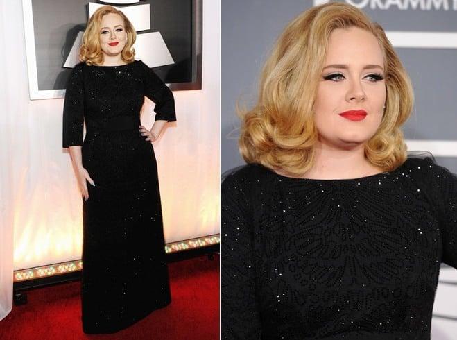 Adele In Christian Louboutin