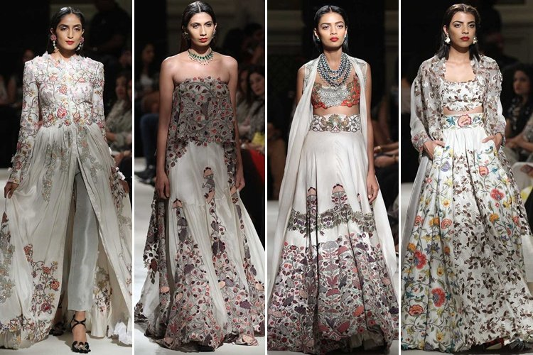 Anamika At 2016 India Couture Week