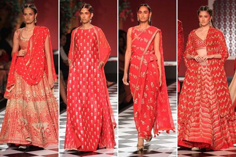 Anita at India Couture Week