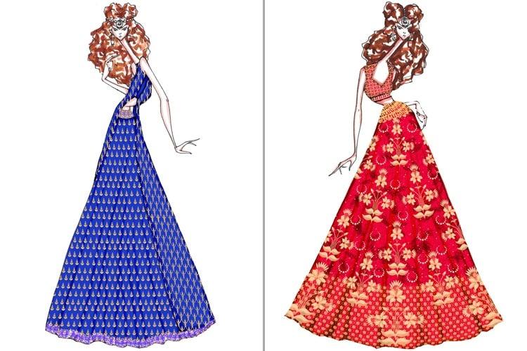 Anita Dongre sketches